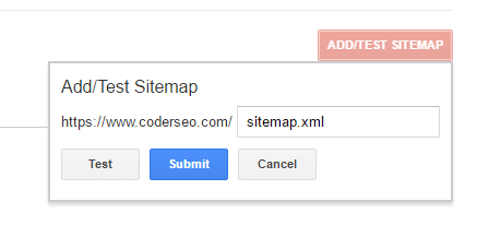 add-test-sitemap